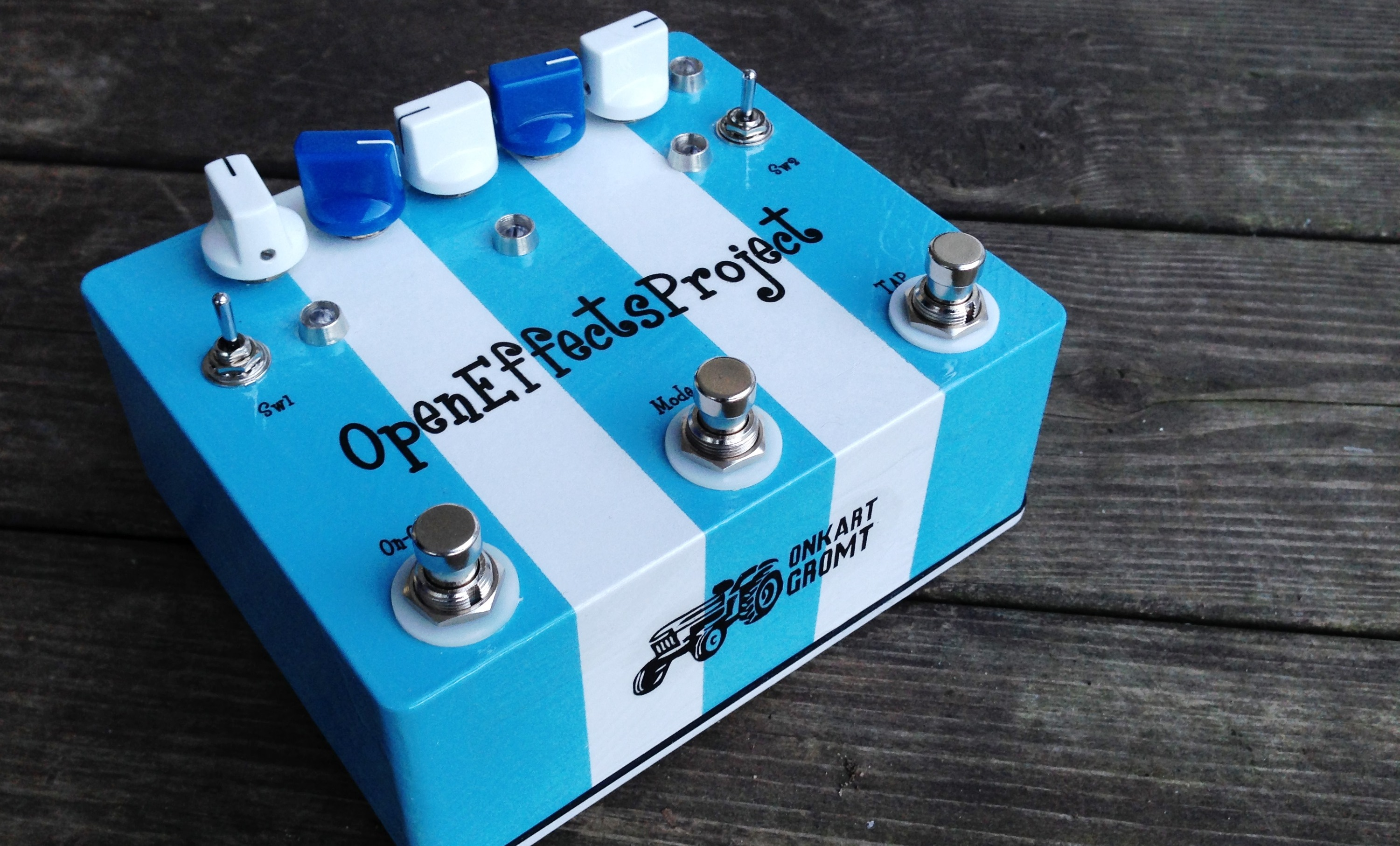 open effects project guitar effect pedal indiegogo. Black Bedroom Furniture Sets. Home Design Ideas