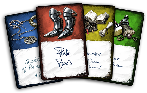 Tabula Rasa Customizable Item Cards For Roleplaying Indiegogo
