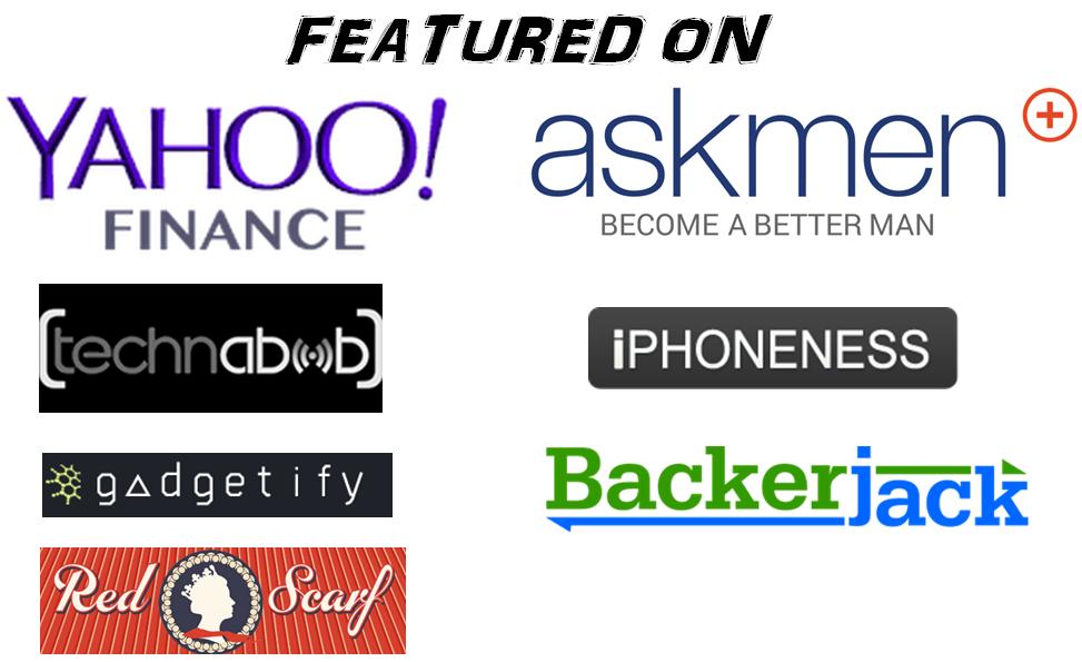 zibear featured on Yahoo Finance, Dailymotion, askmen,iphoneness,backerjack,gadegetify,technabob,red scraf