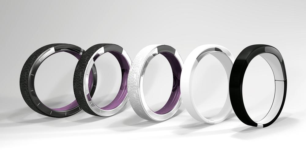 최초의 투사 방식 팔찌형 시계 'Ritot' - (주)위너스랩