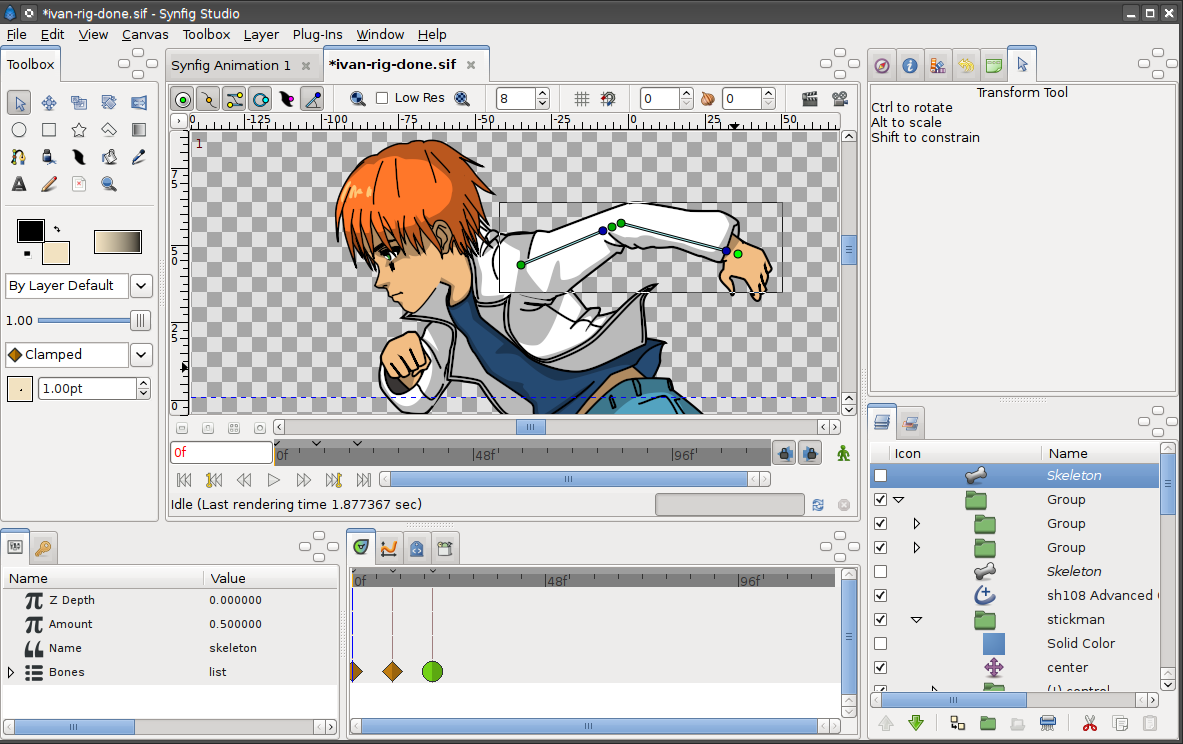 Synfig free animation software indiegogo Free 2d software