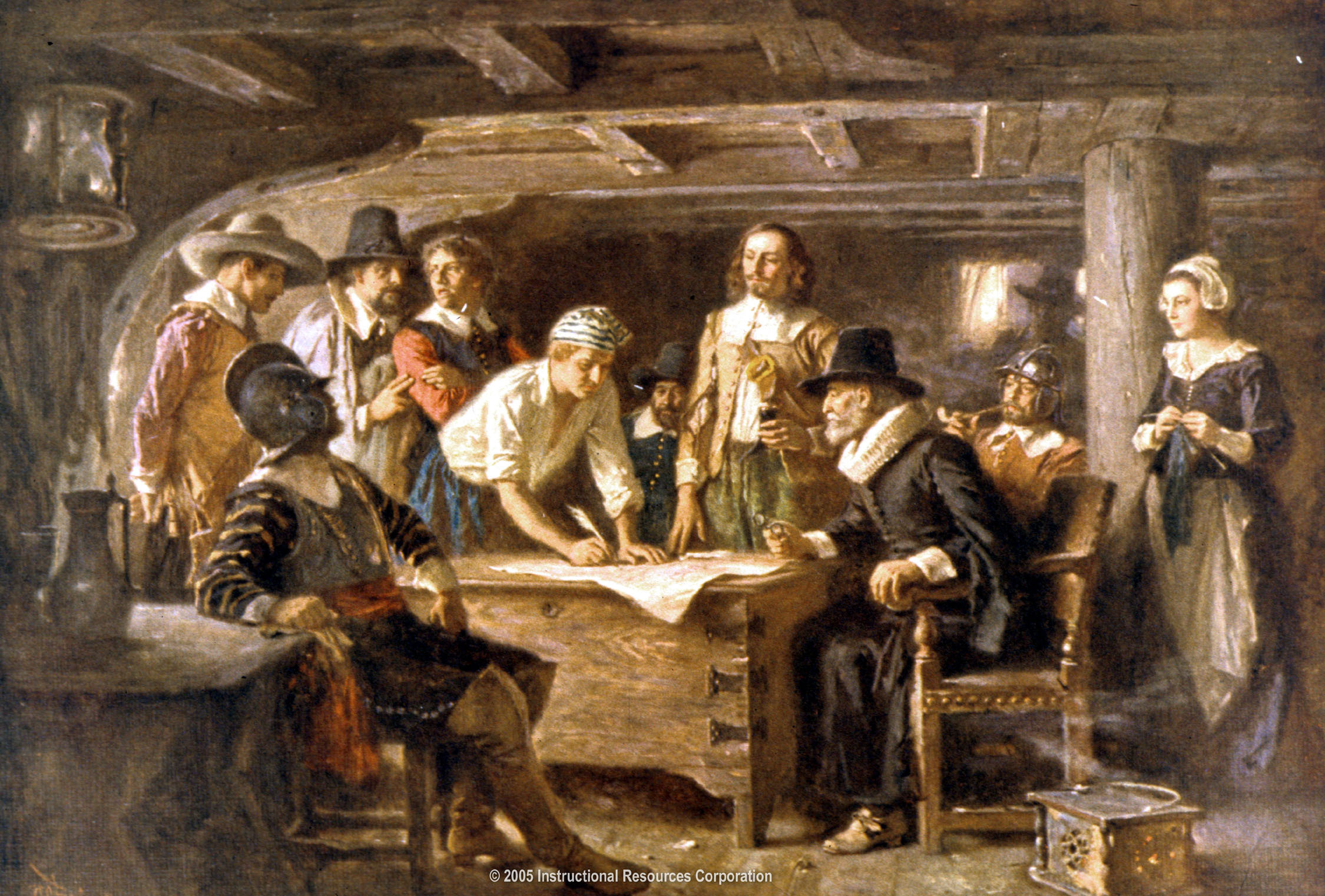 Mayflower Compact ,1620