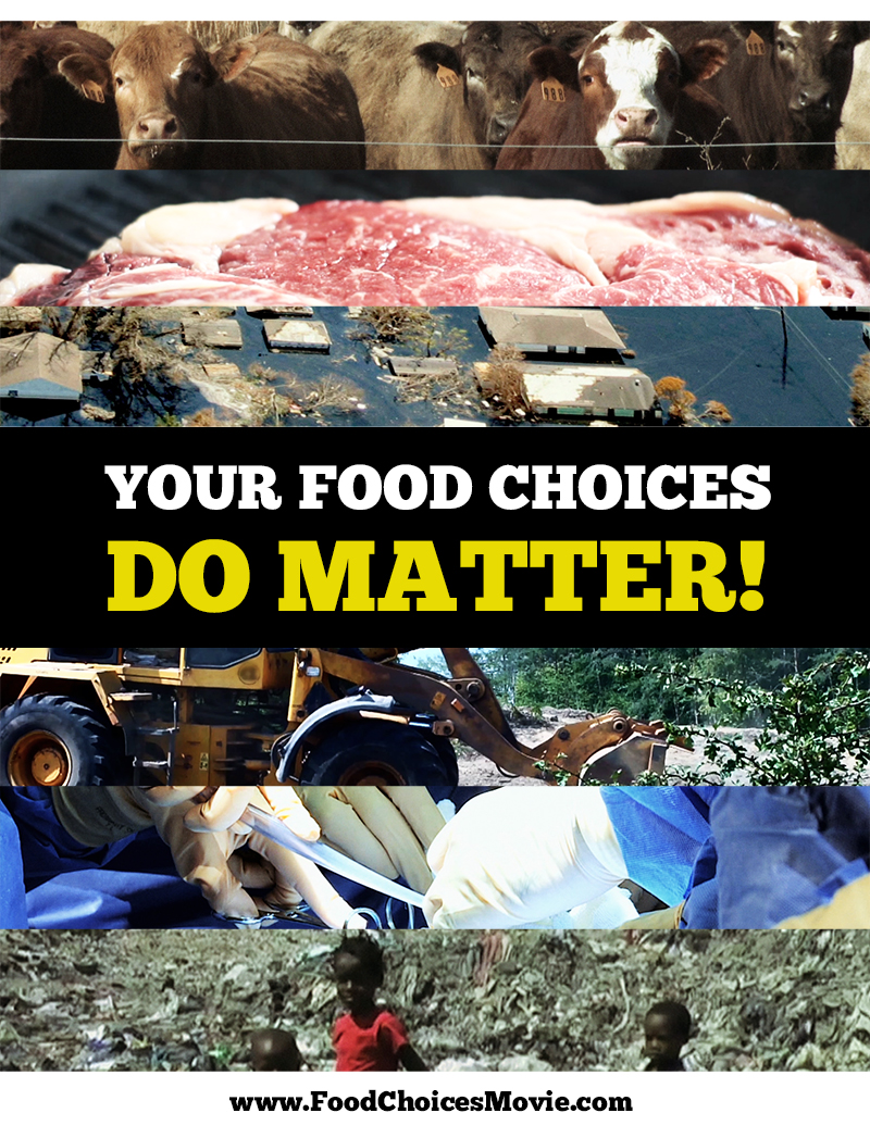 food choices documentary indiegogo if like me you are a big fan of movies such as food inc forks over knives hungry for change fat sick and nearly dead or earthlings you will certainly