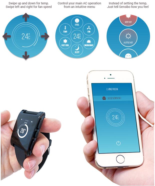 Sensibo Make Any Air Conditioner Smart Indiegogo