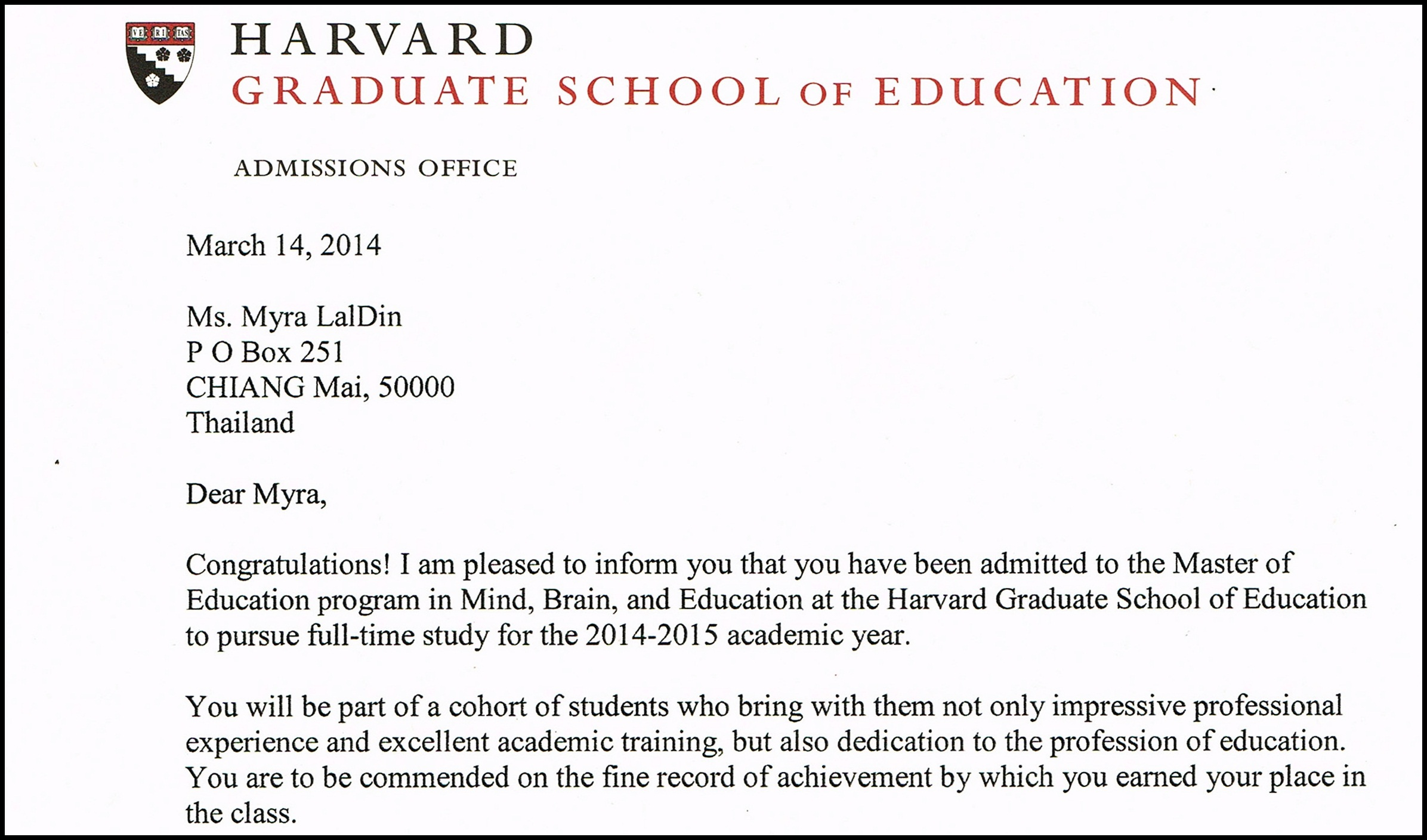 Harvard scholarships?
