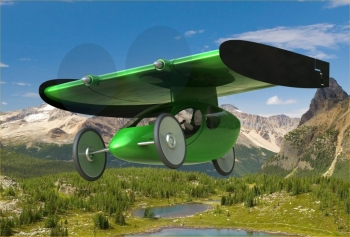 The Fly-B Electric Powered Flying Bicycle | Indiegogo