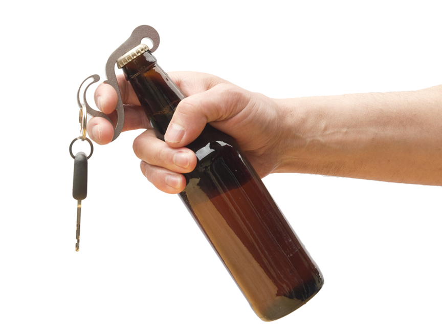 Grab-K: The keychain that opens bottles with a one-handed grab ...