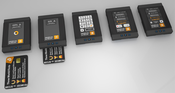 Prismicide worlds most secure bitcoin hardware wallet and anti see below to preorder perks with bitcoins ccuart Images