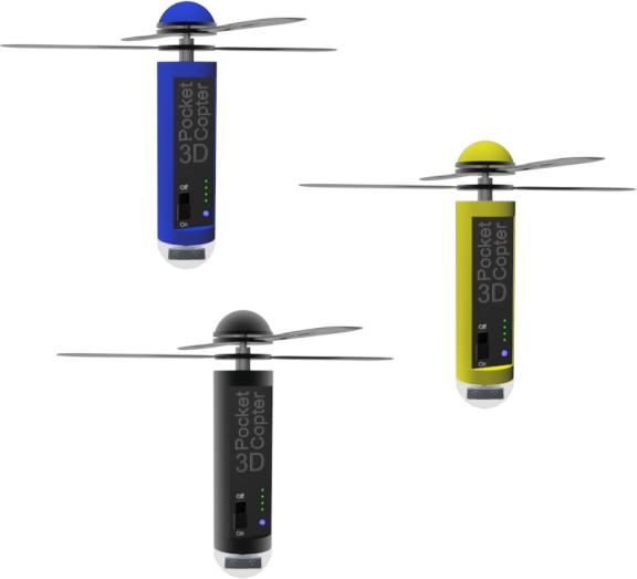 訴訟かもね? 大人気最小ドローン?3D Pocketcopter