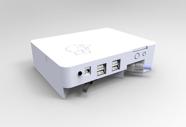 Plusberry Pi Media Box Running On Raspberry Pi Indiegogo