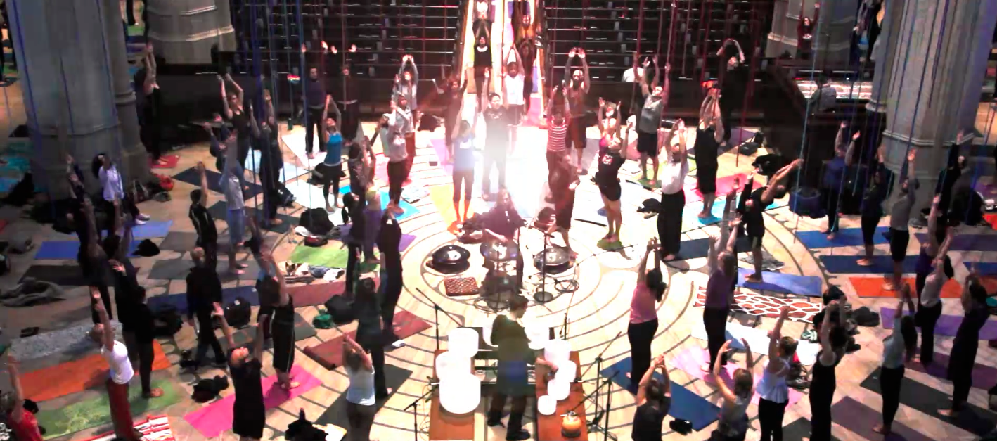 Yoga in the Labyrinth