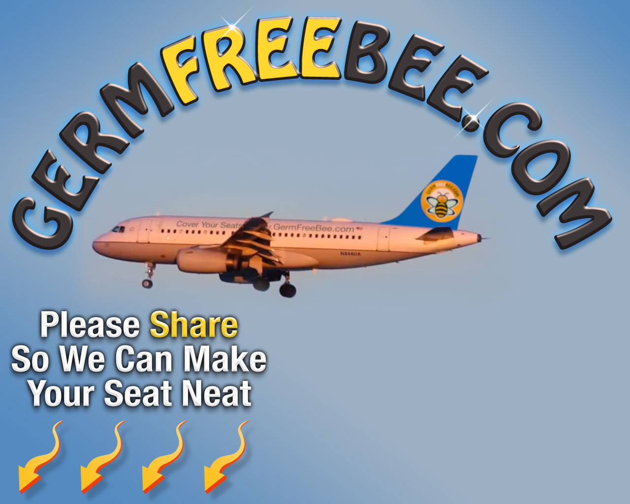 Please Share The Germ Free Bee With Your Friends Family
