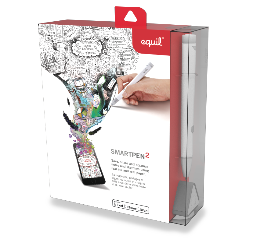Equil Smartpen 2 Real Ink Real Paper Digitized Indiegogo