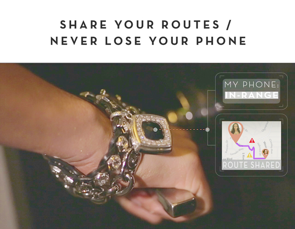 Share routes and never lose your phone with proximity alerts