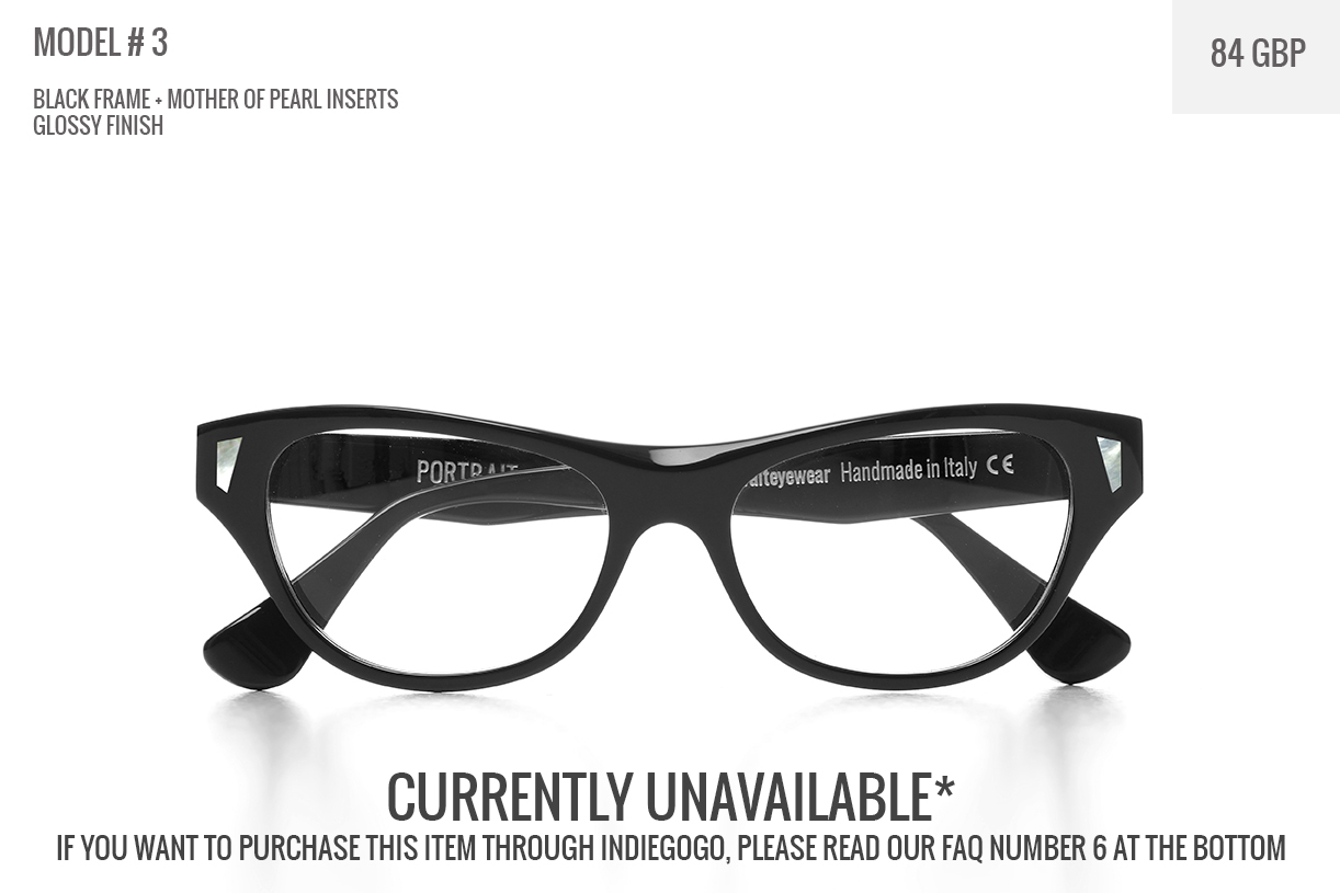 PORTRAIT Eyewear. Frames the Artist in You! | Indiegogo