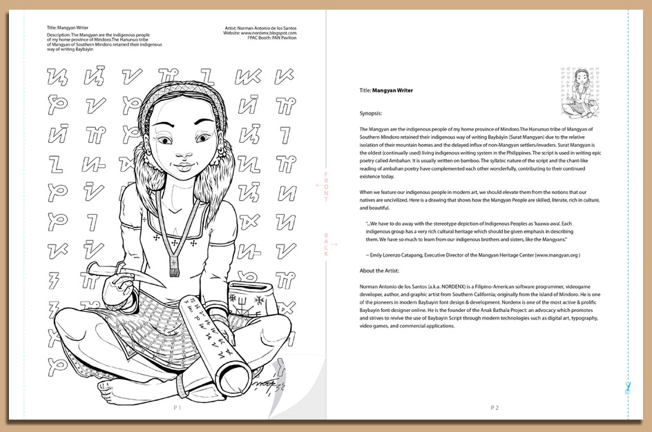 The 2014 filipino edition coloring book indiegogo for Filipino coloring pages