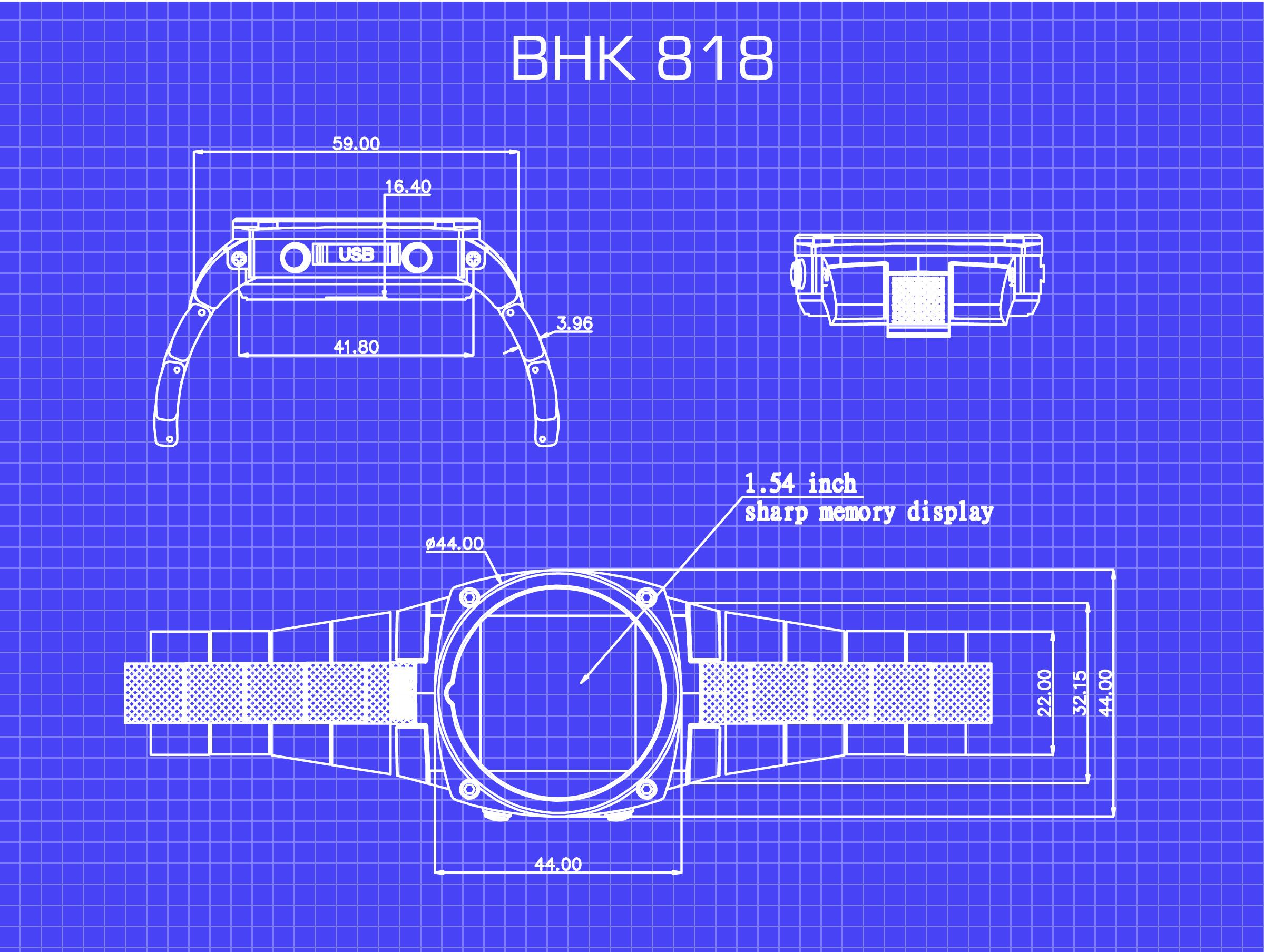 Blackhawk Smartwatch Remote Engine Starter Indiegogo Smart Witness Wiring Diagram Bhk 810