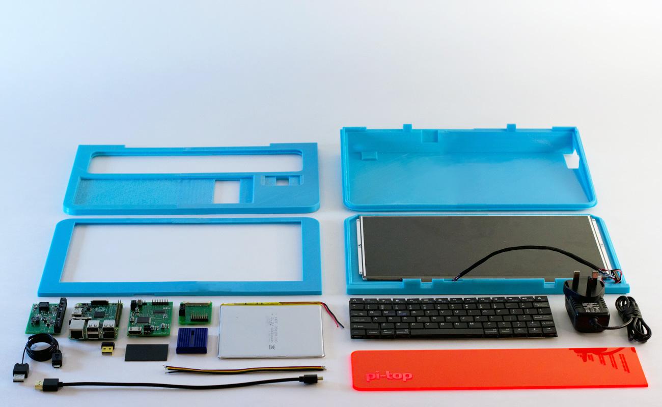 Pi top a raspberry pi laptop you build yourself indiegogo solutioingenieria Image collections