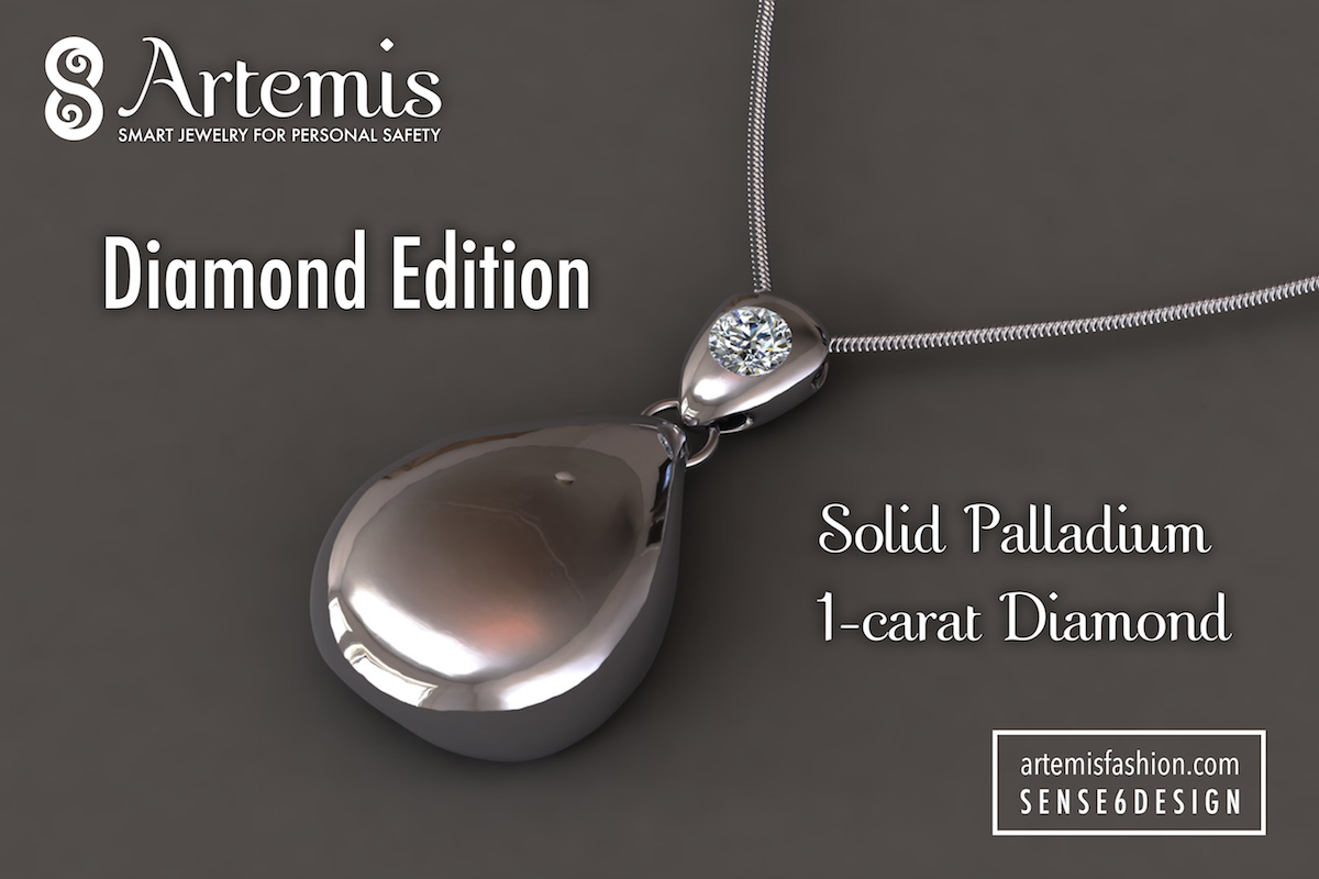 artemis smart jewelry for personal safety indiegogo