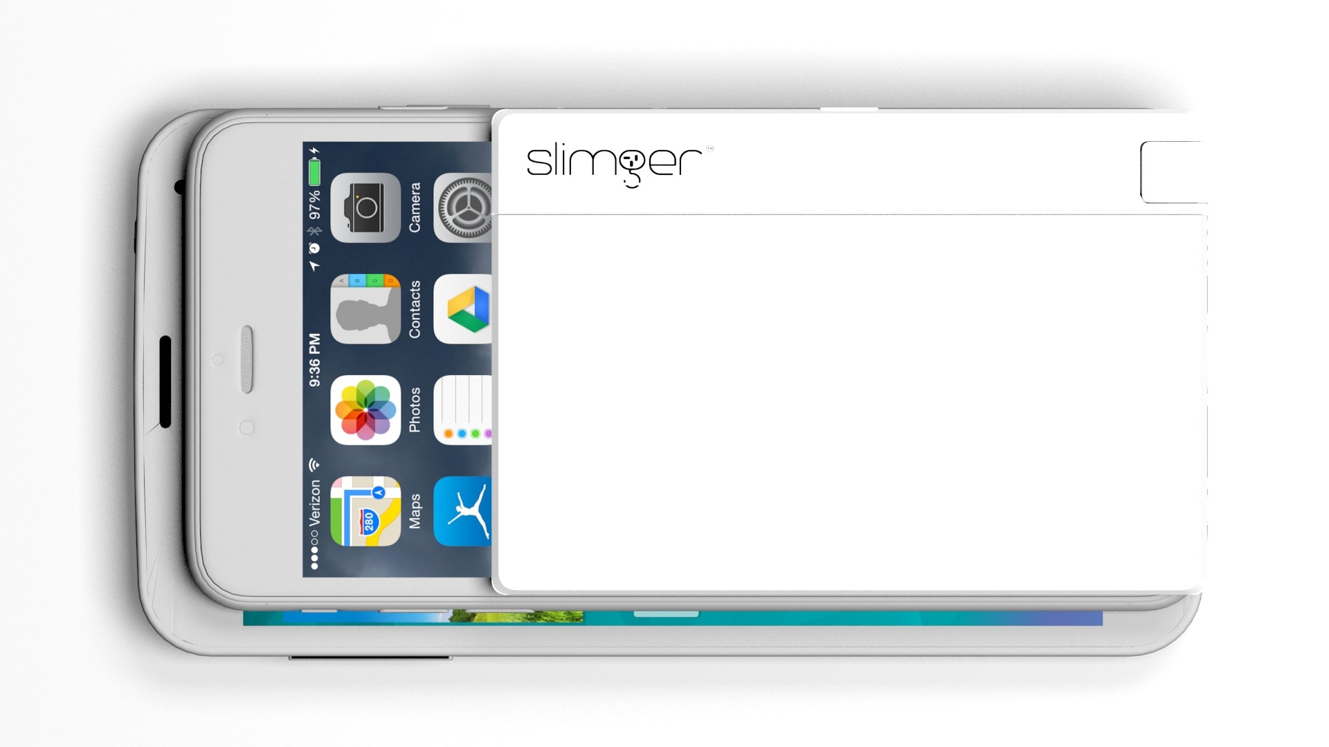 Slimger Ultra Slim Charger For Mobile Devices Indiegogo