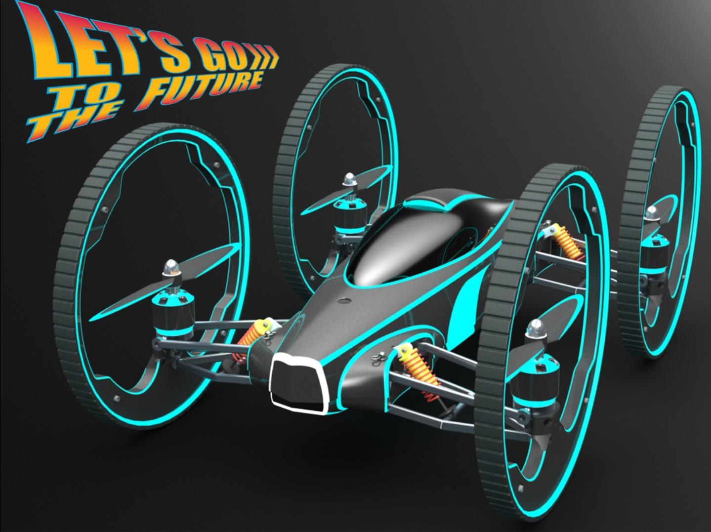 B The Flying car | Ingogo Drone B on