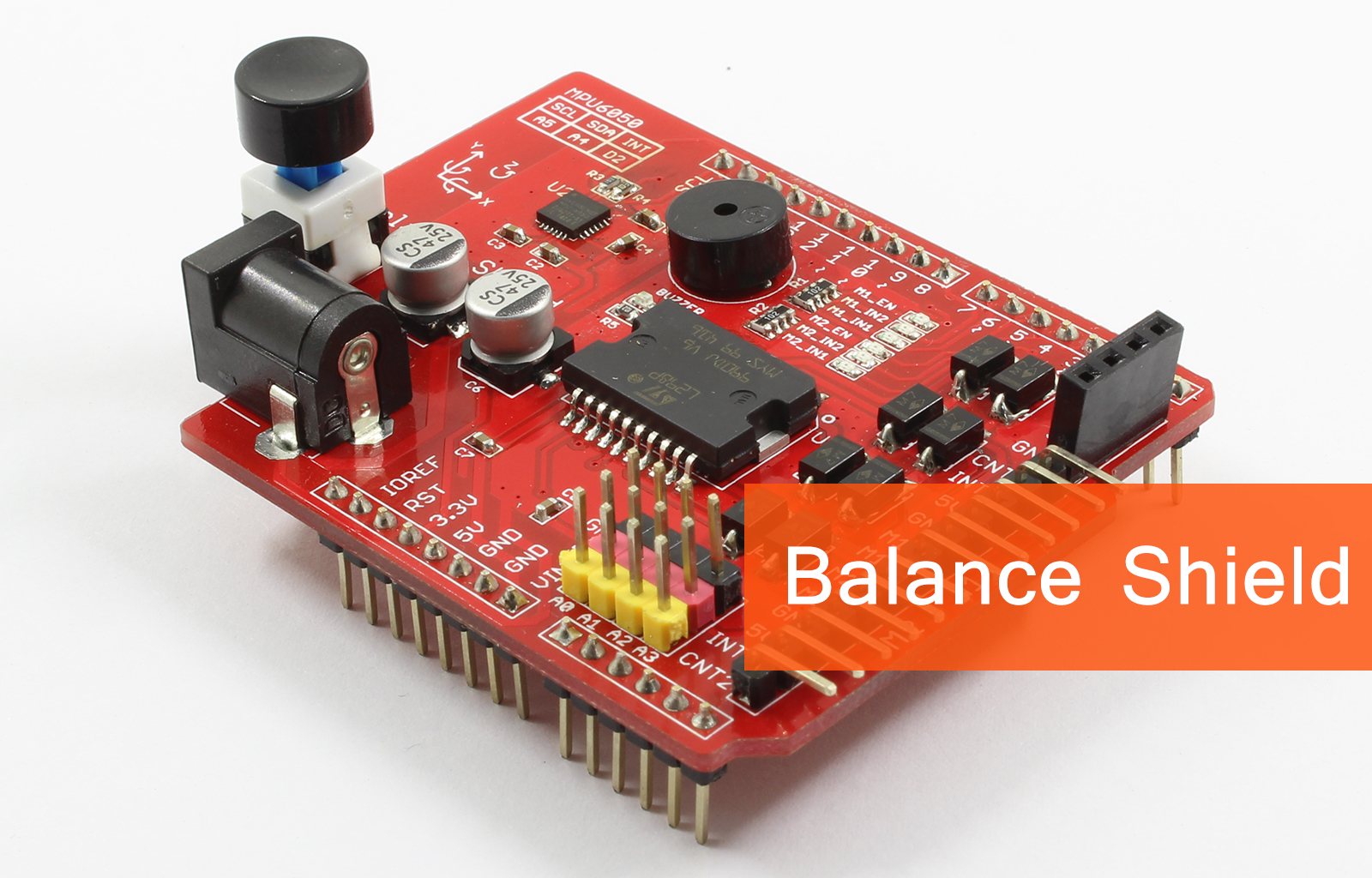 Balanbot Best Arduino Self Balancing Robot Ever Indiegogo How To Make Your Own Board Use For Projects The Uses One 5mm And Two 3mm Thick Acrylic Boards Other Accessories Its Main Structure Is Used Fix Motors