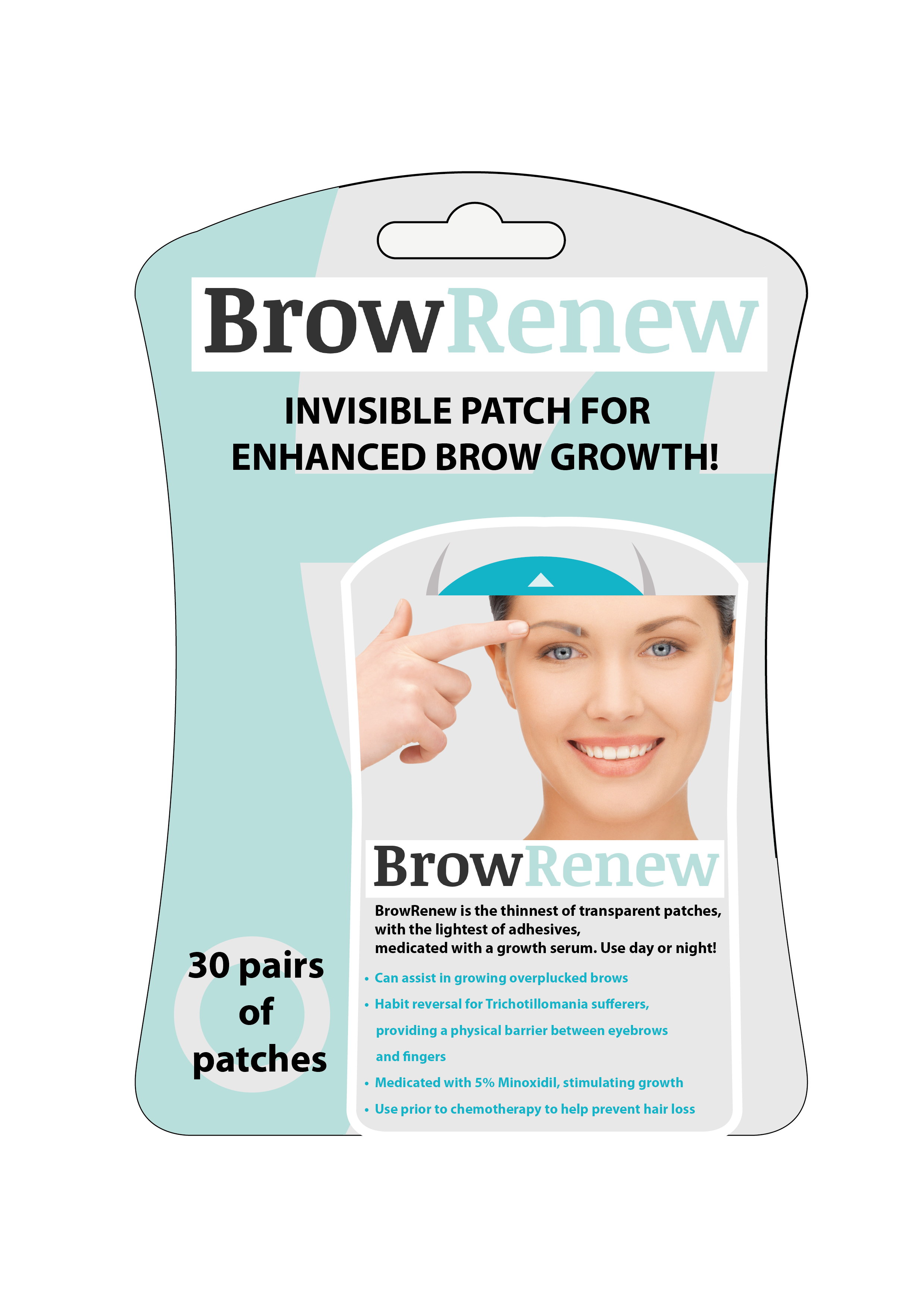 Brow Renew A Solution To Eyebrow Pulling Indiegogo