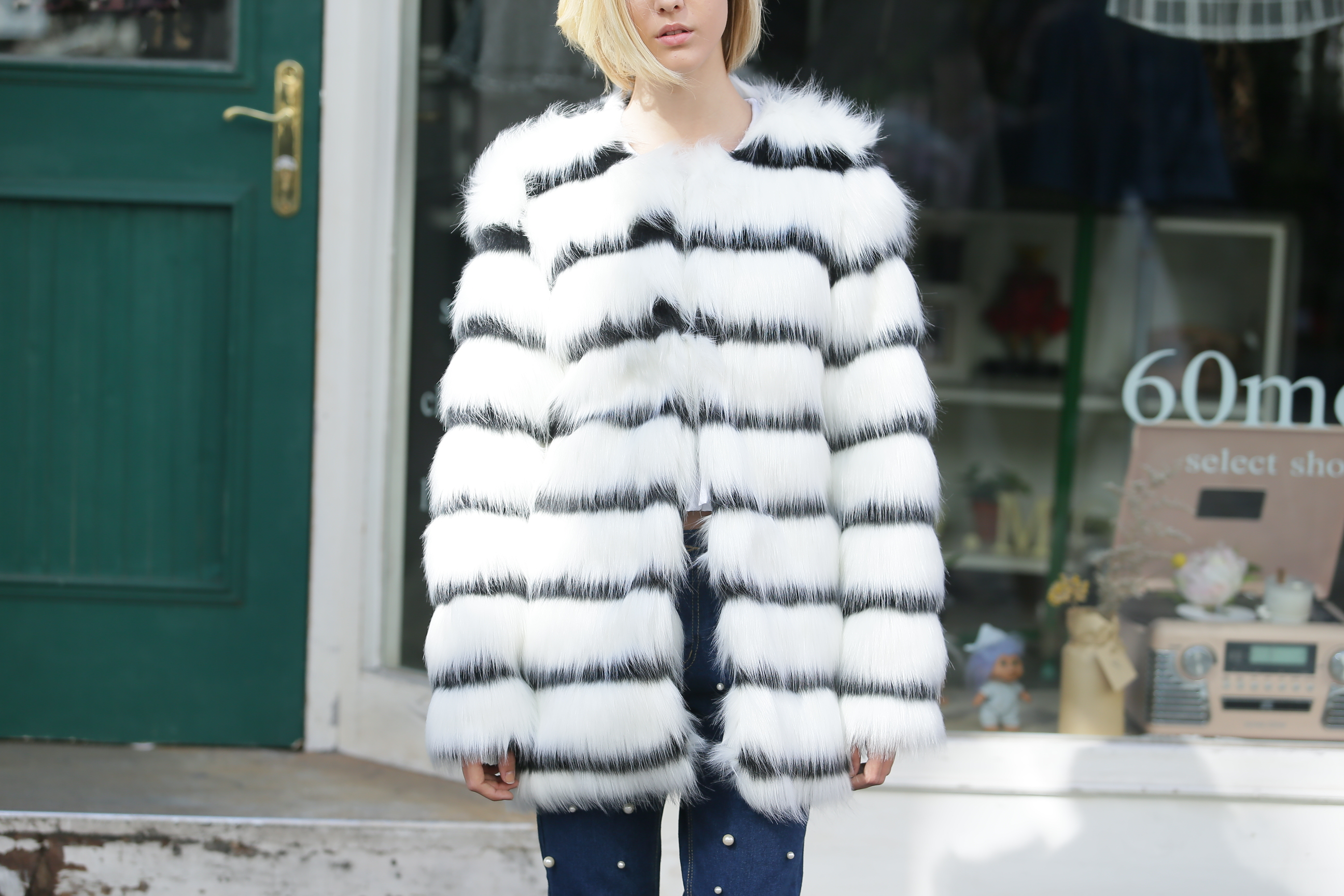 STORETS Faux Fur Coat - Fake it for the Cats | Indiegogo
