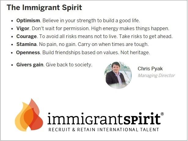 Embrace The Immigrant Spirit   Indiegogo