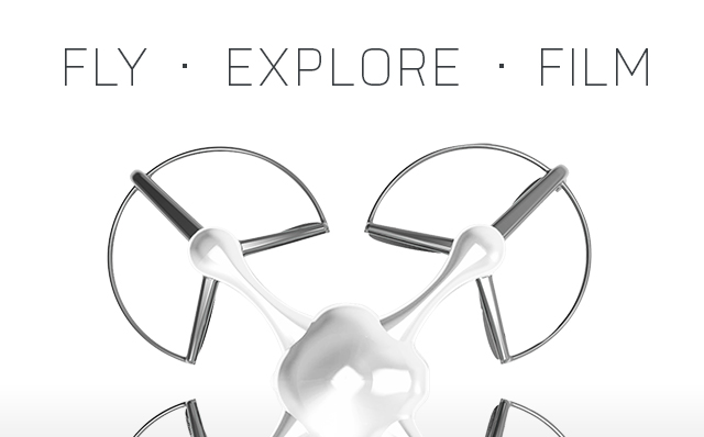 Ghost Drone: Aerial filming has never been easier!   Indiegogo