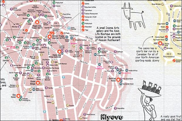 The Map Kigali Indiegogo