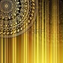 20130519220942-19163849-brown-yellow-striped-pattern-with-a-fragment-of-gold-mandala