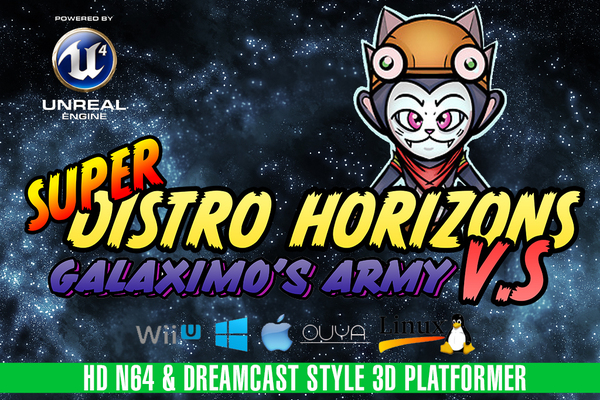 Super Distro Horizons - Nintendo 64 & Dreamcast Platformer