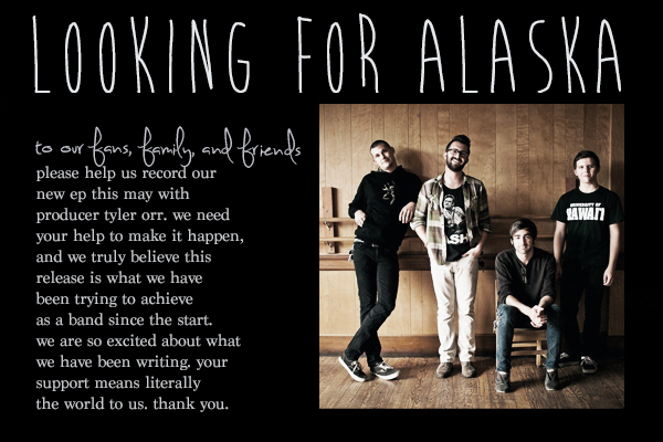 Looking For Alaksa: New Looking For Alaska EP