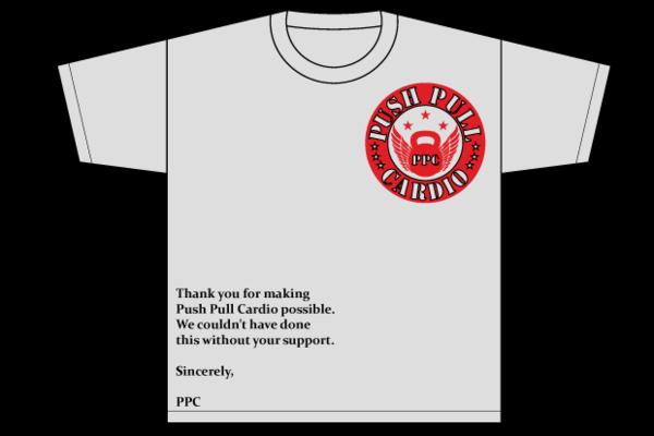 Men's Push Pull Cardio Limited Edition T-Shirt