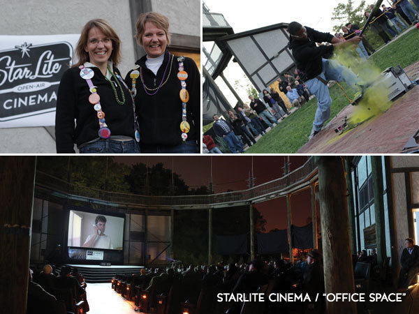 Great fun at Starlite Cinema in City Park