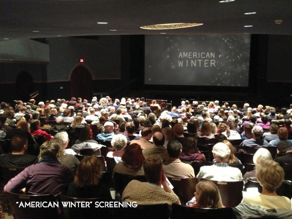 American Winter screening with producer Devon Terrill - an Iowa City native