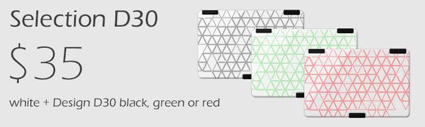 Victoria Wallet Selection-D30 white