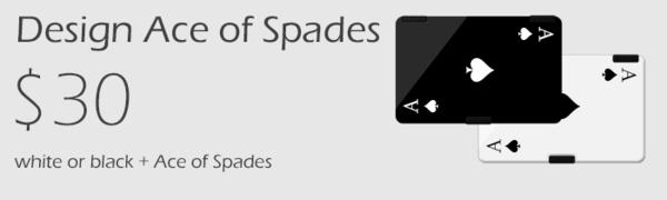 Victoria Wallet Ace of Spades