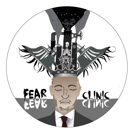 Fear Clinic Sticker  Limited Collectible