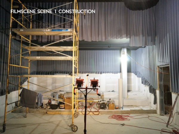 FilmScene Scene 1 buildout is progressing every day.